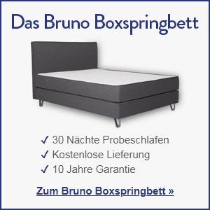 Zum Bruno Boxspringbett