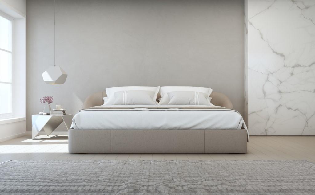 Bett moderne Wohnung